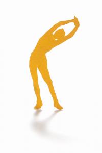 外腹斜筋と脊柱起立筋の呼吸筋ストレッチ体操