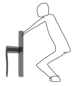 スクワットの方法を知り、寝たきりにならないぞ!脚力テストつき2