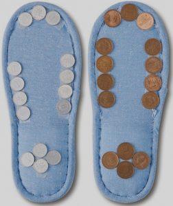 11円スリッパの作り方、必要な物、どの病気に『安心』か