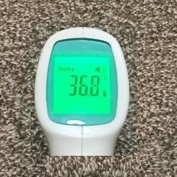 非接触式赤外線体温計をfedickで購入レビュー(フェディック)